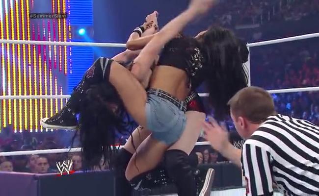 CIBASS_Paige vs AJ Lee
