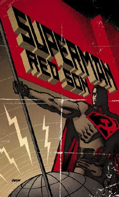 CIBASS Portada de Superman Red Son