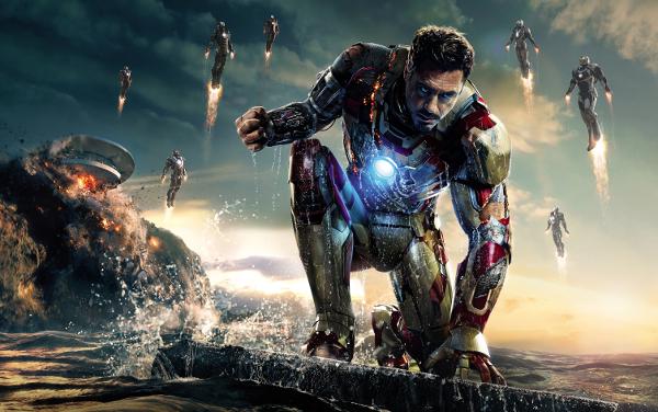 CIBASS Tony Stark en Iron Man tres