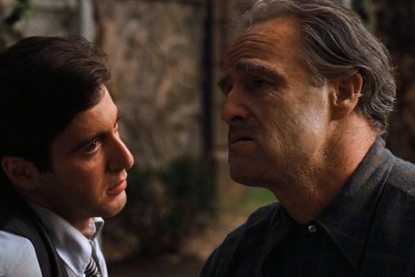 CIBASS Vito Corleone y Michael Corleone El Padrino