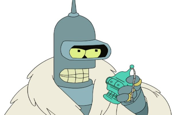 CIBASS Bender de Futurama en modo Pimp
