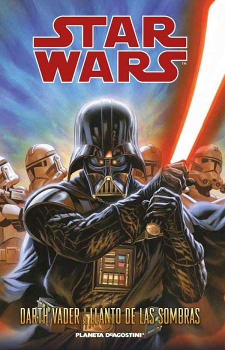 CIBASS Portada de Darth Vadery el Llanto de las Sombras
