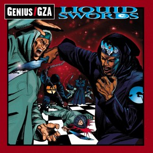 CIBASS Portada del disco Liquid Swords de GZA