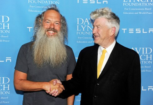 CIBASS Rick Rubin y David Lynch