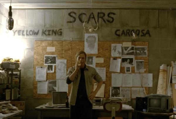 True Detective: el detective Rust Cohle en 2012
