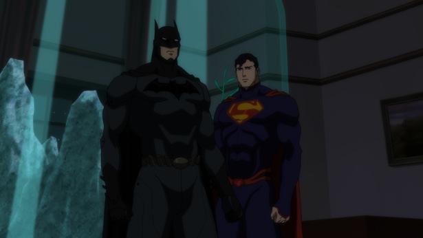 CIBASS Liga de la justicia Superman y Batman