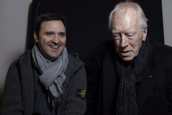 CIBASS Toni García Ramón con Max Von Sydow