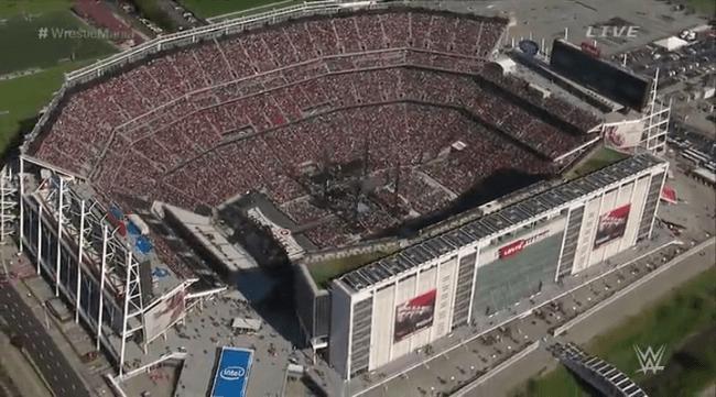 CIBASS WrestleMania vista aerea