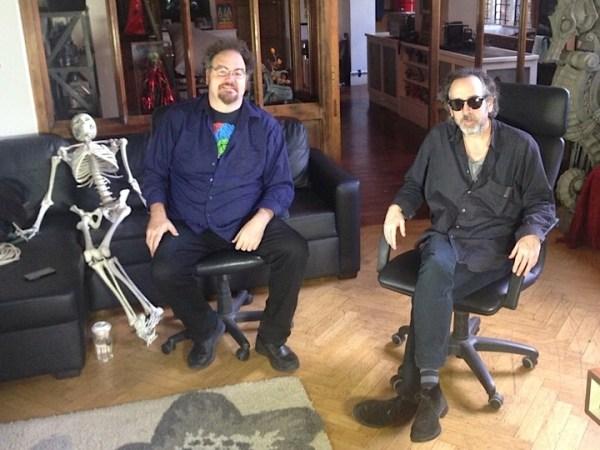 CIBASS Jon Schnepp y Tim Burton