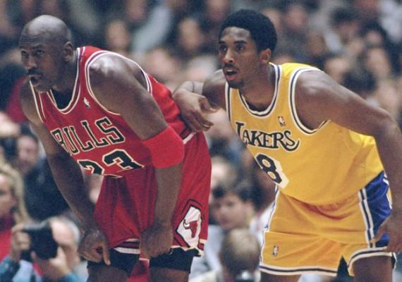 CIBASS Michael Jordan y Kobe Bryant