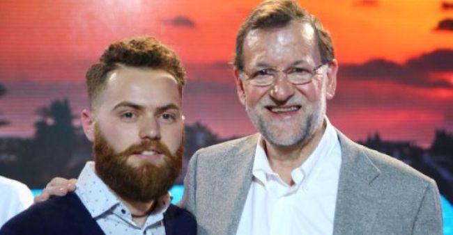 CIBASS Mariano Rajoy y su hipster amaestrado