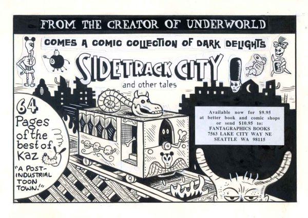 CIBASS Autsaider comics Sidetrack City