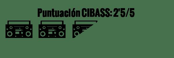 CIBASS Puntuación CIBASS Dos puntos y medio