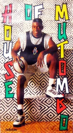 CIBASS Adidas Mutombo basket promo