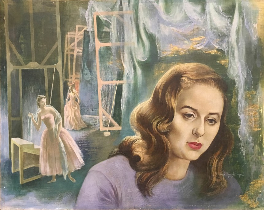 Betty, 1948, Tempera on masonite panel, 15 3/4 x 19 3/4 in., Private Collection
