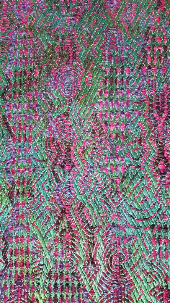 Digital Jacquard weaving by Janice Lessman-Moss