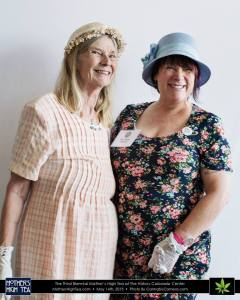 Ms. Caren Kershner and Ms. Sara Conrad.  Photo courtesy Cannabis Camera.