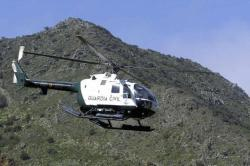 Helicópterode la Guardia Civil