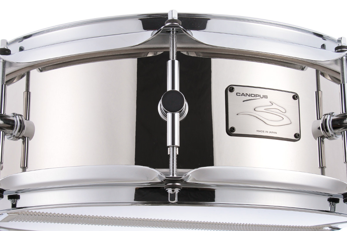 The Steel Snare Drum   CANOPUS DRUMS