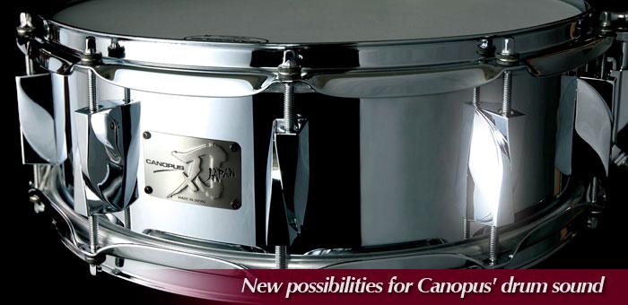 """""""YAIBA"""" Steel Snare Drum"""