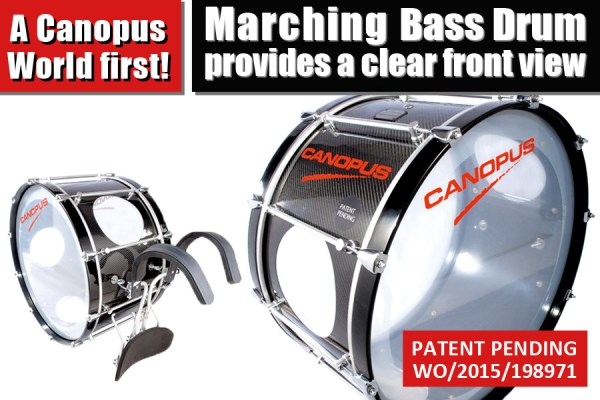 Canopus Marching Bass Drum