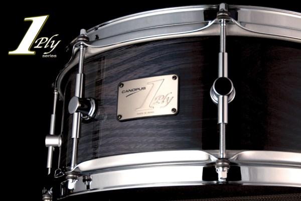 1ply Elm Snare Drum 1プライ エルム スネアドラム