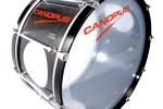 カノウプスマーチングバスドラム