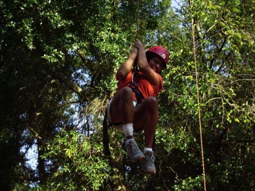Ropes Course Zipline