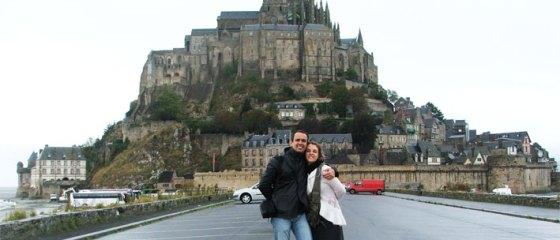 Vista do Mont Saint Michel