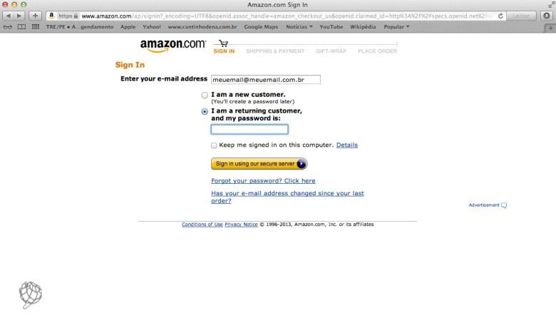 tela Amazon comra wish list4