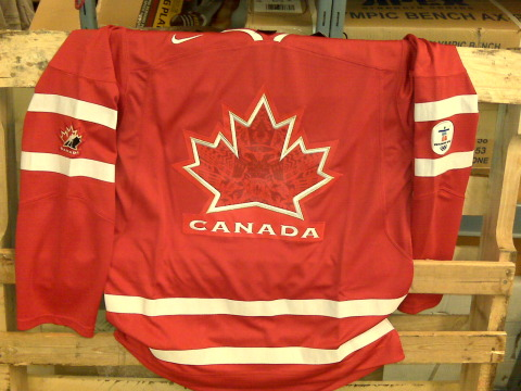 2010 Team Canada red jersey