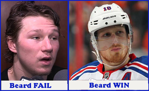 2014 playoffs, stanley cup, nhl, tyler toffoli, marc staal, beards