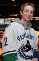 Canucks fan, Jason McBurney