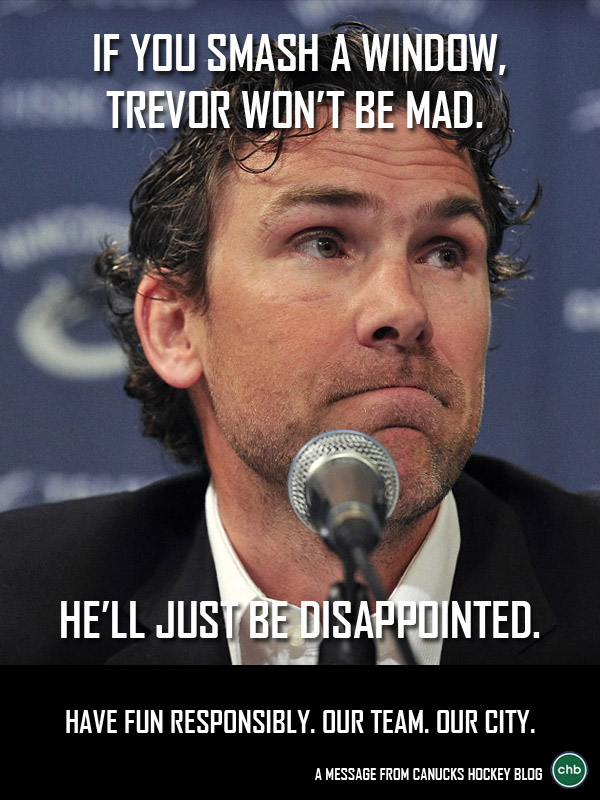 Disappointed Trevor