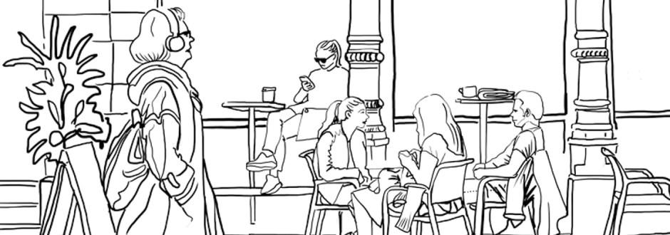 Illustratör Stefan Lindblad, CorelDRAW Master, vektor, tekniska illustrationer, logotyp, vektorisering, Stockholm Urban Mix, Indie publishing