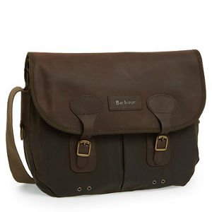 Barbour Waxed Canvas Tarras Bag