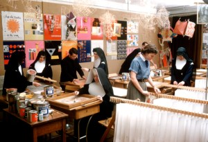 Immaculate Heart College Art Department, Los Angeles, c. 1955, courtesy of Corita Art Center, Los Angeles.