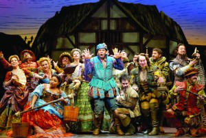 "The ensemble of ""Something Rotten!"" PHOTO 