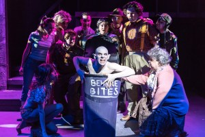 """Bat Boy: The Musical"" was performed in October 2015 at Blank Canvas Theater. Photo 