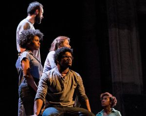 """""""Incendiaries"""" was performed in January 2016 at Cleveland Public Theatre. Photo   Steve Wagner"""