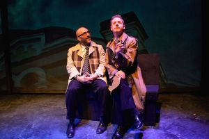 Craig Joseph as Louis Ironson, from left, and Scott Esposito as Prior Walter. Photo / Celeste Cosentino