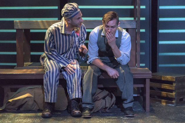 Andrew Gorell as Horst (left) and Geoff Knox as Max. Photo / Andy Dudik