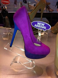 Steven Madden purple and blue pumps