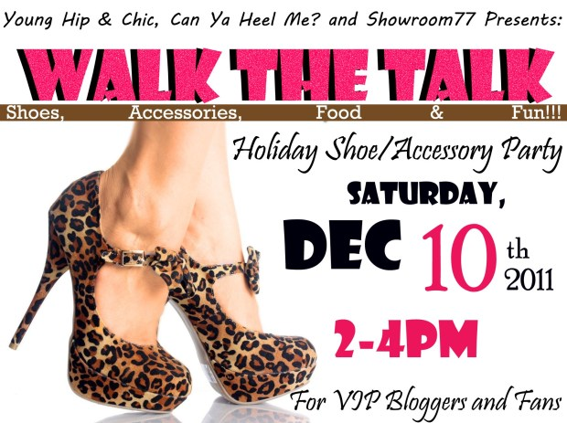 Walk the Talk Event featuring Can Ya Heel Me?