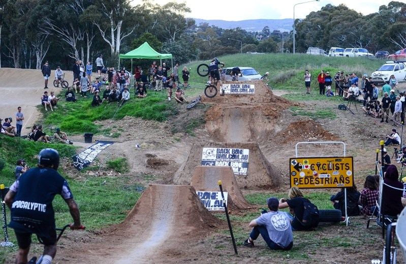 bmx trails dirt jumping