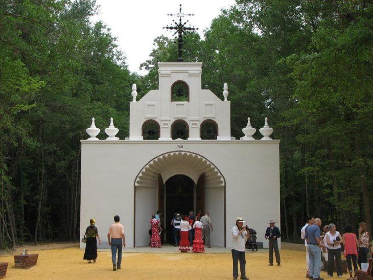 Ermita del Rocío en Carolina del Sur.