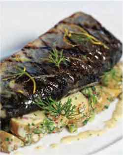 Gallant Mr Butter Sauce Over Chilled Fingerlingpotato Salad Cape Cod Life Grilled Trout Mr Butter Sauce Over Chilled Grilled Trout Marinade Recipes Grilled Trout Recipes Foil Grilled Trout