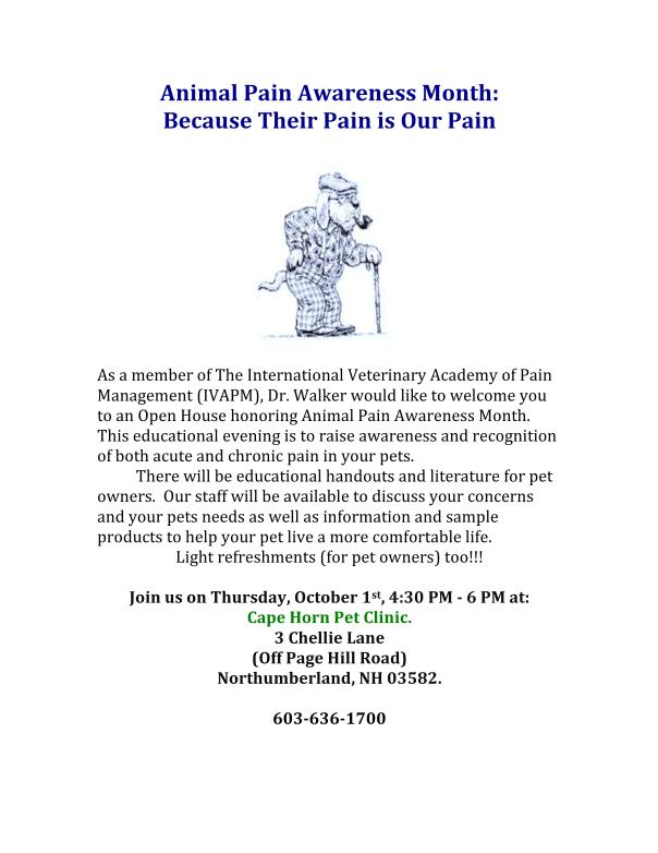 Arthritis and Pain Management Open House