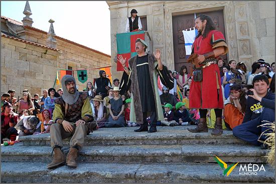 A vida medieval voltou a Marialva