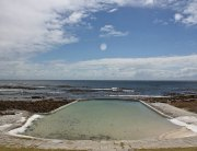 The tidal pools at Cape Point offer safe swimming conditions for the whole family.